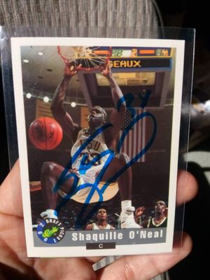 Shaquille O'Neal autograph 1992 Draft Pick Classic. for Sale in Alhambra, CA