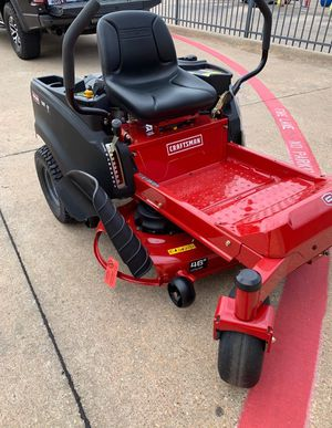 CRAFTSMAN ZERO TURN MOWER BRAND NEW for Sale in Mesquite, TX