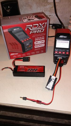 Rc Lipo battery charger and Lipo battery for Sale in Highland, CA