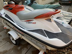 2001 Seadoo 2004 Polaris jet ski with trailer for Sale in Tracy, CA