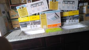 We have a ton of kitchen, bathroom, and whole home materials from flooring to lighting products and more! for Sale in Winter Haven, FL
