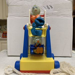 Vintage 1980s Jim Hensons Productions Vintage Sesame Street ILLCO TOY Ferris Wheel - Vintage Collectible for Sale in Dayton, OH