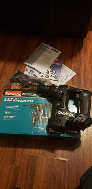 Makita rotary compact hammer drill new tool.only no batery no charger for Sale in Johnston, RI