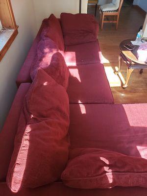 2 piece couch for Sale in Marquette, MI