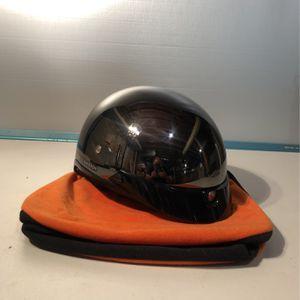 Harley Davidson Gloss Black Dot Midway Motorcycle Half Helmet Size XL for Sale in Seattle, WA