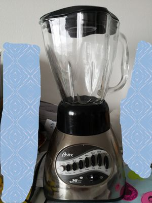 16 speed blender with glass jar for Sale in Malden, MA