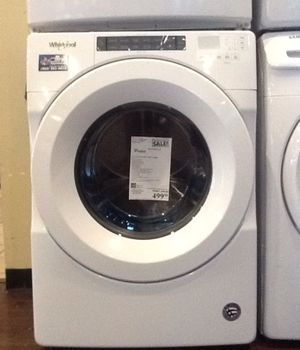New Open Box Whirpool 4.3 Cu.Ft. Front Load Washer for Sale in Downey, CA