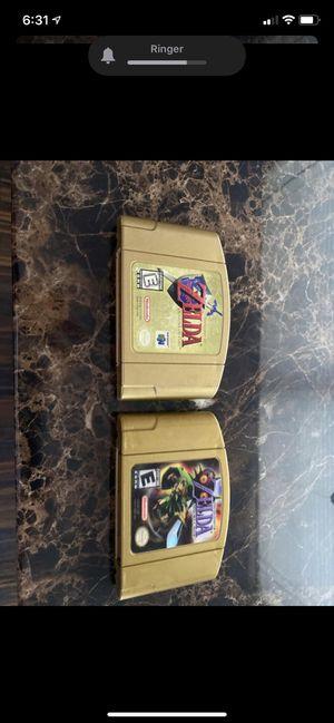 Zelda gold Nintendo 64 for Sale in Miami, FL