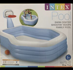 BRAND NEW IN BOX INTEX SWIM CENTER SHOOTIN HOOPS!!!!! DELIVERY AVAILABLE SAME DAY! for Sale in Miami, FL