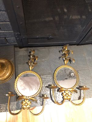 Vintage wall sconces for Sale in Easton, CT