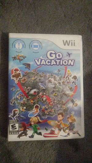 Wii go vacation for Sale in Cypress, CA