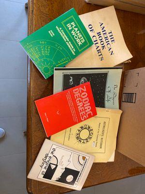 Astrology books-Misc for Sale in Denver, CO