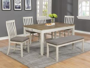 Nina Whttite Rectangular Dining Set | 2217 for Sale in Columbia, MD