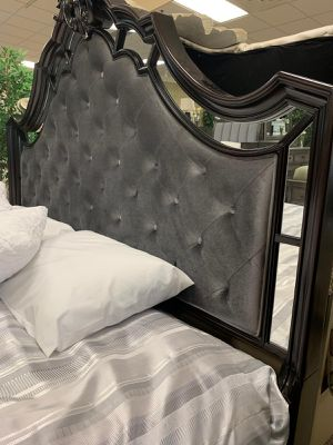 💥SAME DAY DELIVERY🚚Brand New Rich Dark Brown 5-Piece Panel Bedroom Set / Queen, King./ Bed Frame, Dresser, Mirror, Chest and Nightstand 💭 for Sale in Houston, TX