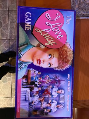 I love Lucy board games for Sale in Sunrise, FL
