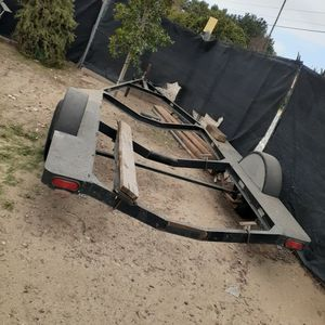 22x8 Boat Trailer. As Is !No Paper Work. Need To Get Rid Of It ASAP $600 OBO for Sale in Chino, CA