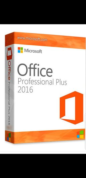 Office 2016 Professional PC/ Mac for Sale in Washington, DC