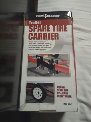 Trailer hand winch & spare tire carrier for Sale in Portland, OR