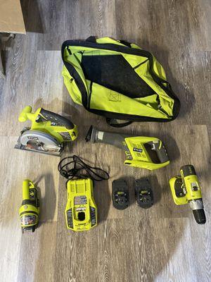 Ryobi 18v Power Tool Set for Sale in Orlando, FL