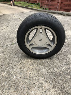 Stock Mustang Wheels with Tires for Sale in West Mifflin, PA