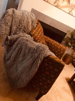 Chair and matching ottoman for Sale in Reston, VA