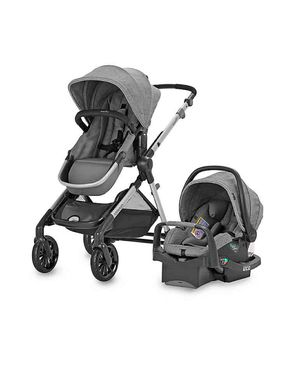 Double stroller with carseat for Sale in El Paso, TX