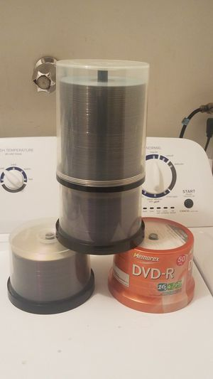Like 250 New Blank DVD-R Discs for Sale in Lake Forest Park, WA