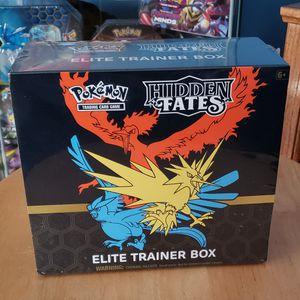 Hidden Fates Pokemon Elite Trainer Box for Sale in Carlstadt, NJ