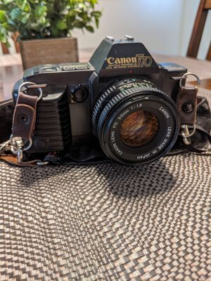 Canon T70 Film Camera 50mm for Sale in Las Vegas, NV