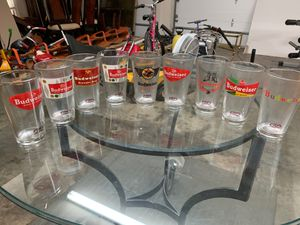 Budweiser glasses for Sale in Mint Hill, NC