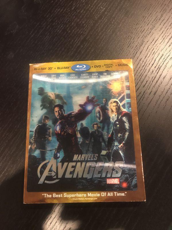 Avengers 3D Blu Ray + Blu Ray