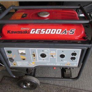 Kawasaki GE5000 A-s Generator for Sale in San Jose, CA
