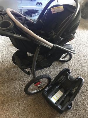 Baby car seat with stroller for Sale in Fairview, OR
