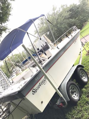1988 Sportscraft center console With a 2003 Yamaha 150hp Water Ready 6500 or best offer for Sale in Tampa, FL
