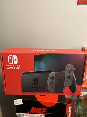 BRAND NEW Nintendo Switch (Gray) for Sale in Macomb, MI