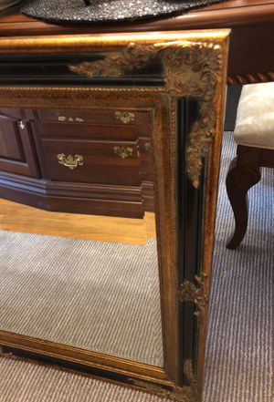 Large wall mirror excellent condition for Sale in Garner, NC