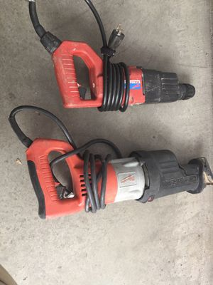 Milwaukee rotary hammer and orbital super saw zall drill for Sale in Los Angeles, CA