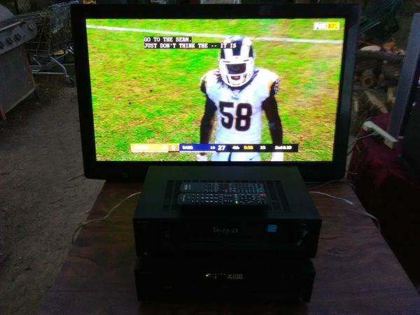 Panasonic 42 inch TV with remote control and 3 HDMI ports