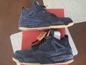 Levi's Jordan 4 black size 13 100% authentic for Sale in Hayward, CA
