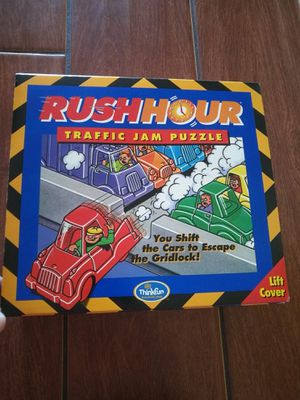 Rush hour traffic jam puzzle learning game for Sale in Los Angeles, CA
