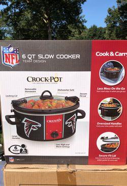 Falcons crock pot for Sale in Marietta,  GA