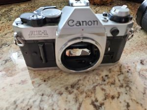 SLR 35mm Camera body and 2 lens for Sale in Everett, WA
