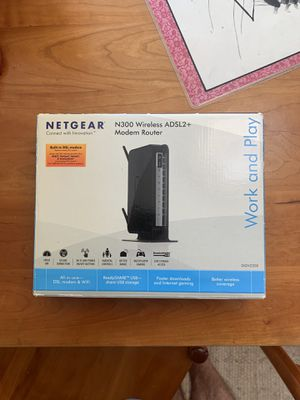 Netgear Modem Router for Sale in Unorganized Territory of Fort Snelling, MN