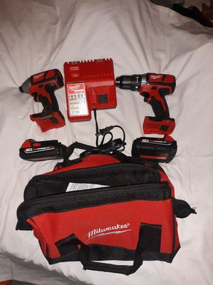 Milwaukee impact drill hammer drill and charger brand new for Sale in Jacksonville, FL