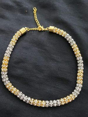 Necklace in silver with gold mix colour for Sale in Moreno Valley, CA