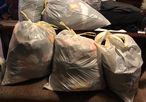 10 Bags full of Shoes and Clothes .All for 100$ for Sale in Houston, TX