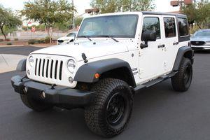 2016 Jeep Wrangler Unlimited for Sale in Avondale, AZ
