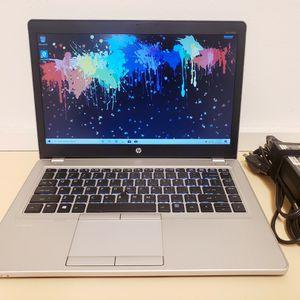 "HP ELITEBOOK FOLIO 9470M / 128GB SSD / 16GB RAM / i5-3437U 2.40GHz / 14"" / WIN 10 LAPTOP for Sale in Chula Vista, CA"