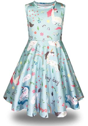 Size 8 unicorn party dress for Sale in Downey, CA