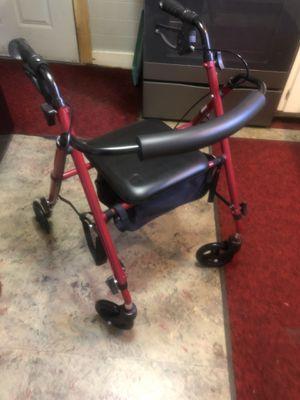 4 wheeled walker for Sale in Bangor, ME